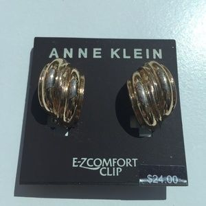 4/$10 Anne Klein EZ Comfort Clip Earrings